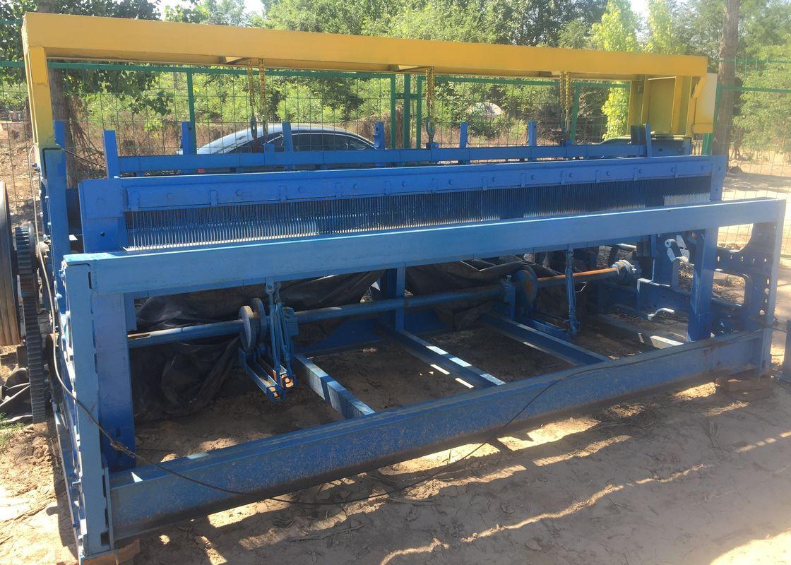 Hohe leistungsfähige quetschverbundene Maschendraht-Maschine 2,5 m ...