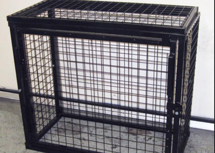 Hochleistungsmetall-gasflaschen-Speicher-Käfig-verschließbarer Käfig ...